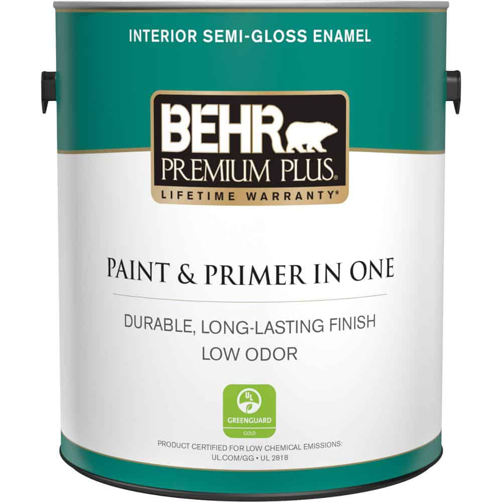 Semi-gloss paint