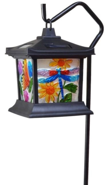Solar floral light