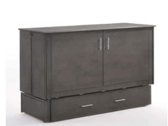 Cabinet unit for storing wall bed