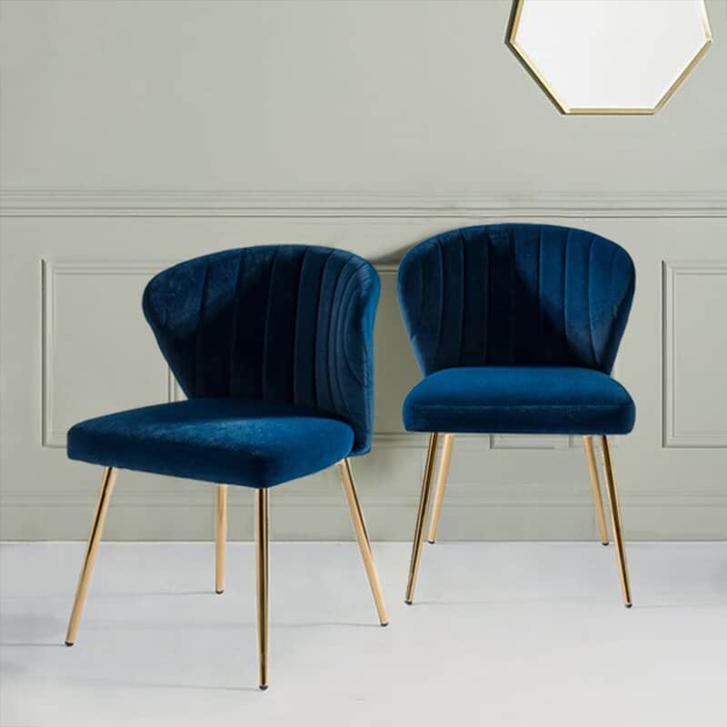 The Everly Quinn Esmund Accent Chair from Wayfair.