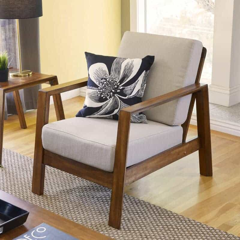 The George Oliver Venable Accent Chair from Wayfair.