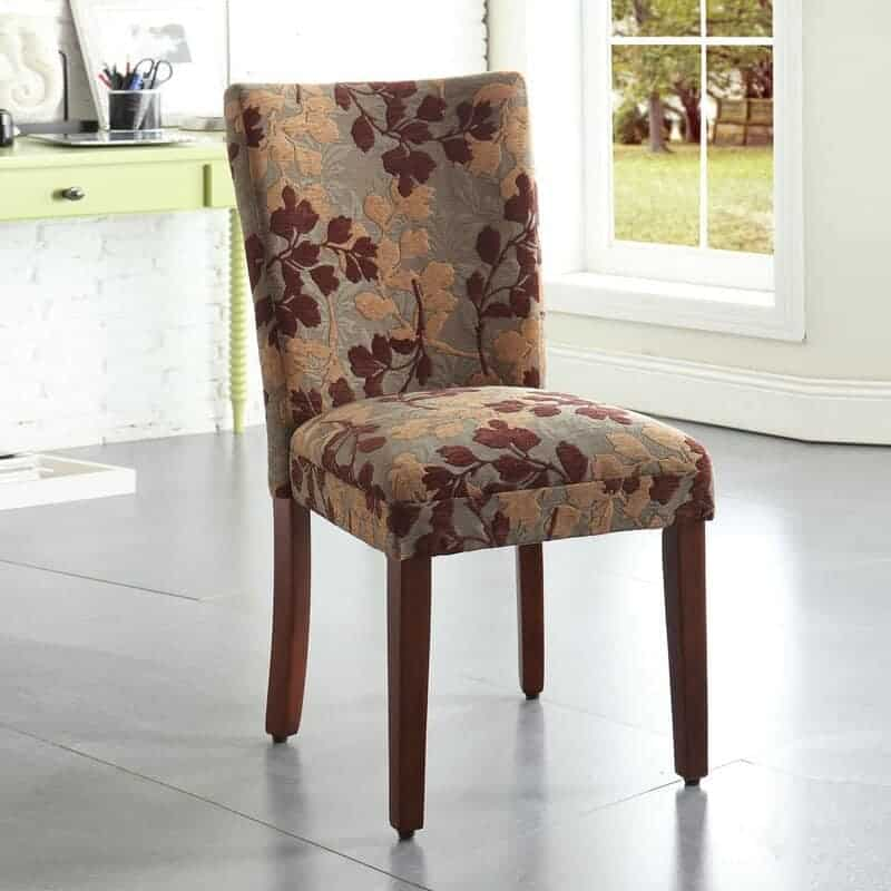 The Andover Mills Tenbury Parsons Accent Chair from Wayfair.
