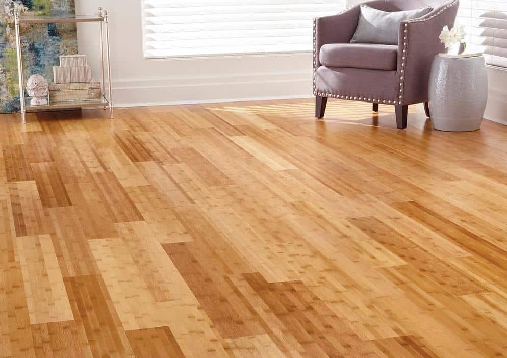 Bamboo flooring example