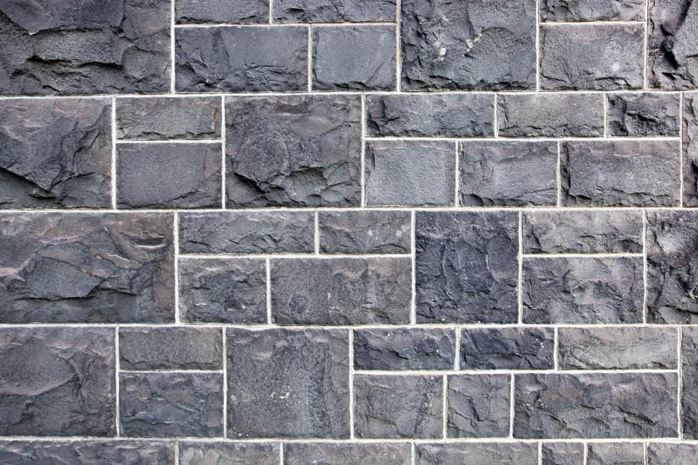 Bluestone wall