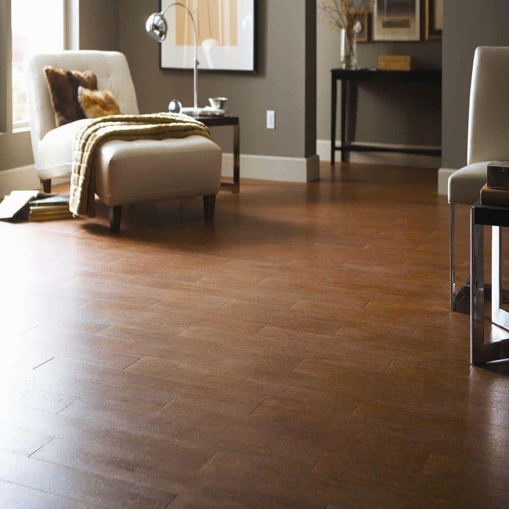 Cork floor example
