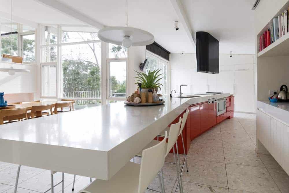 Midcentury modern kitchen style