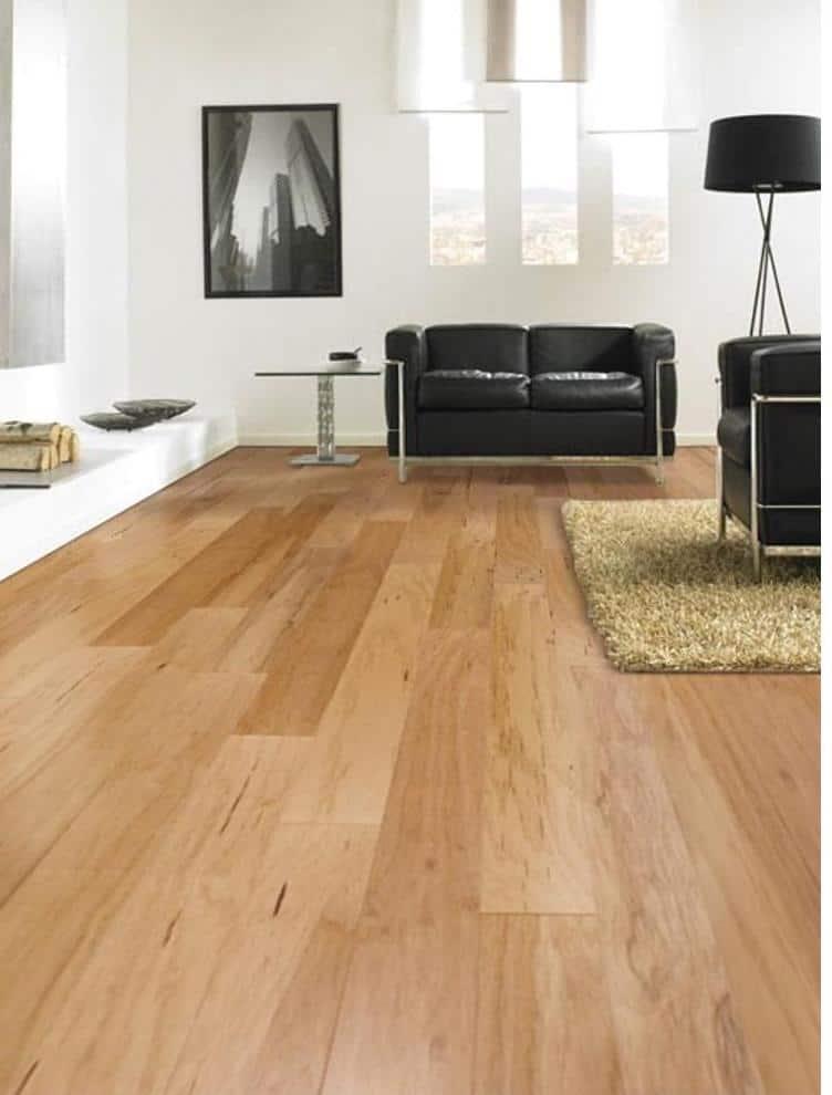 Pecan wood flooring example