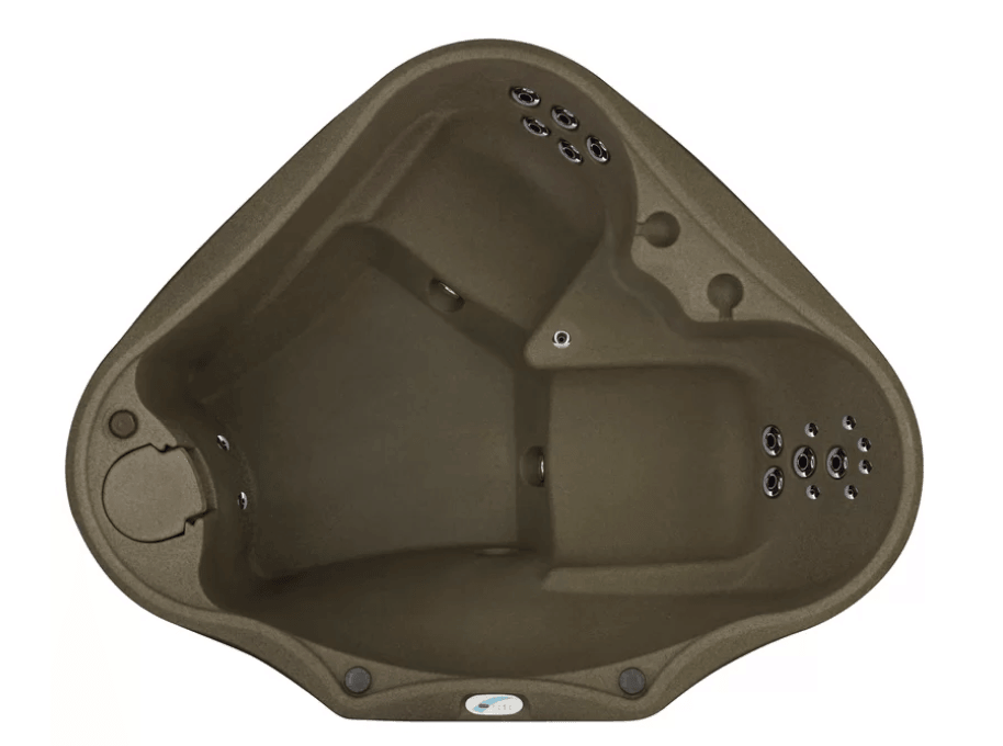 Rotationally molded hot tub