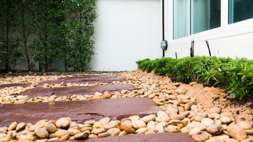 Sandstone pavers for walkway
