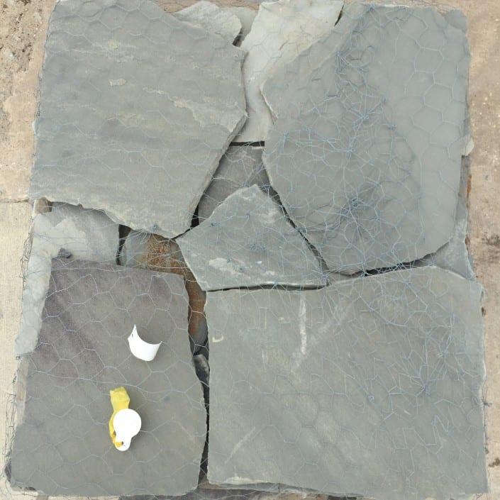 Silvermist flagstone for patios.