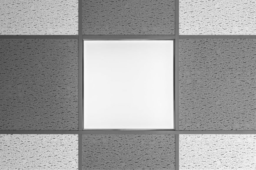 Acoustic Tile Ceiling