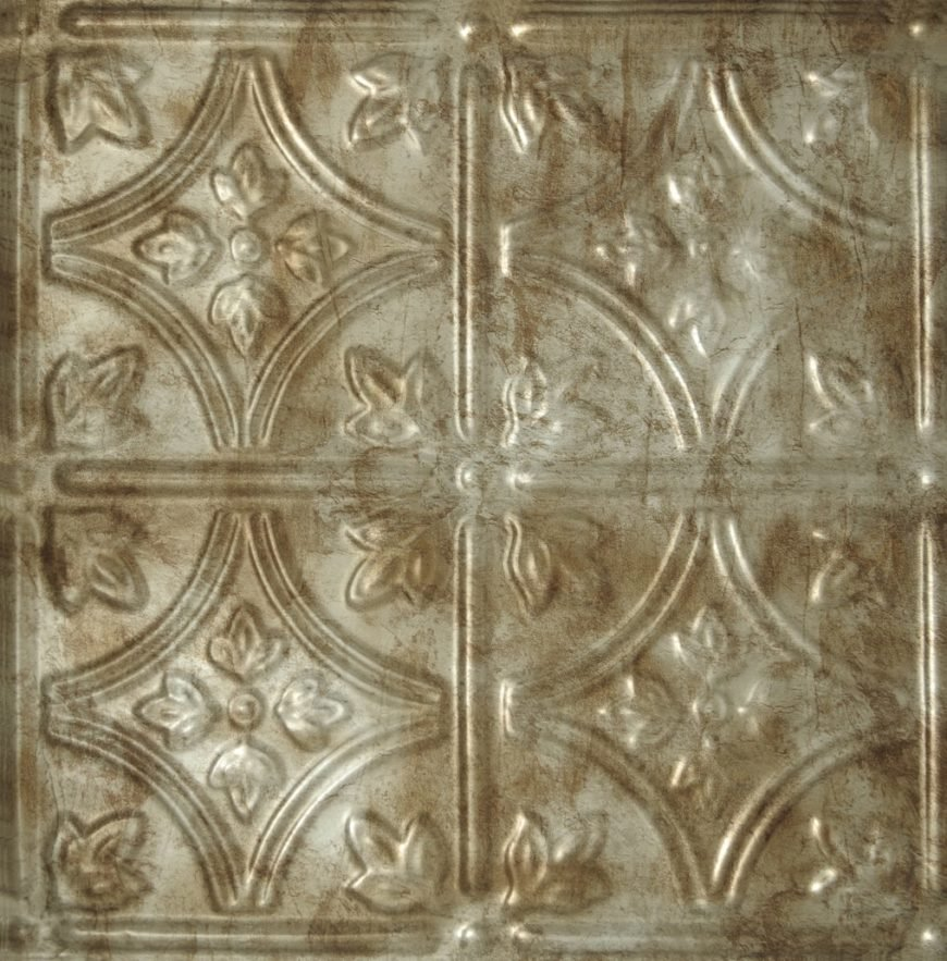Decorative Tile Ceiling