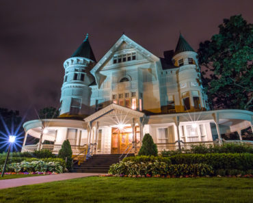 Spectacular Victorian mansion with 2 turrets in Michigan