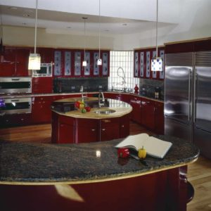 28 Red Kitchen Ideas With Red Cabinets Photos Home Stratosphere