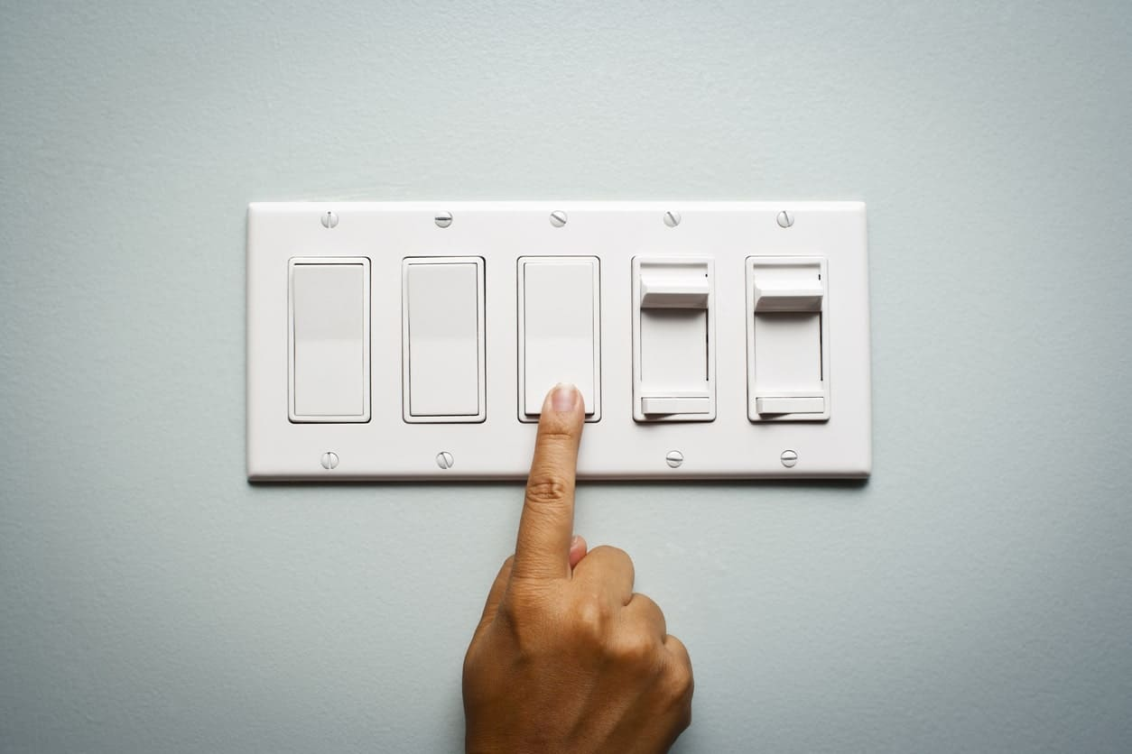 Light Switch Types >> 11 Different Types Of Light Switches And Fixtures