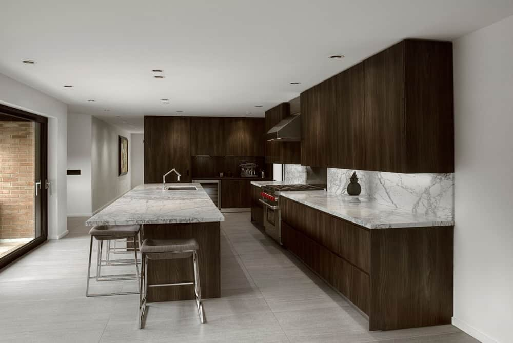 Kitchen Modern Interior Design. Gallery Of Modern Small Kitchen ...