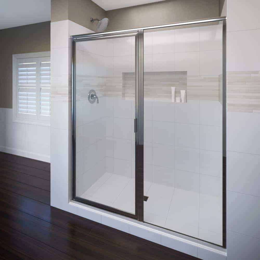 Pivoting Glass Shower Door