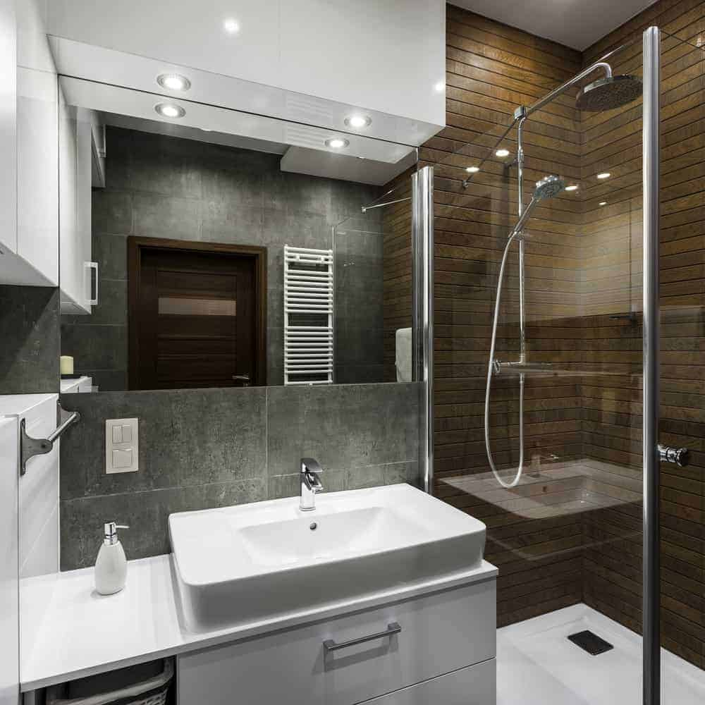 33 Terrific Small Master Bathroom Ideas (2019 Photos
