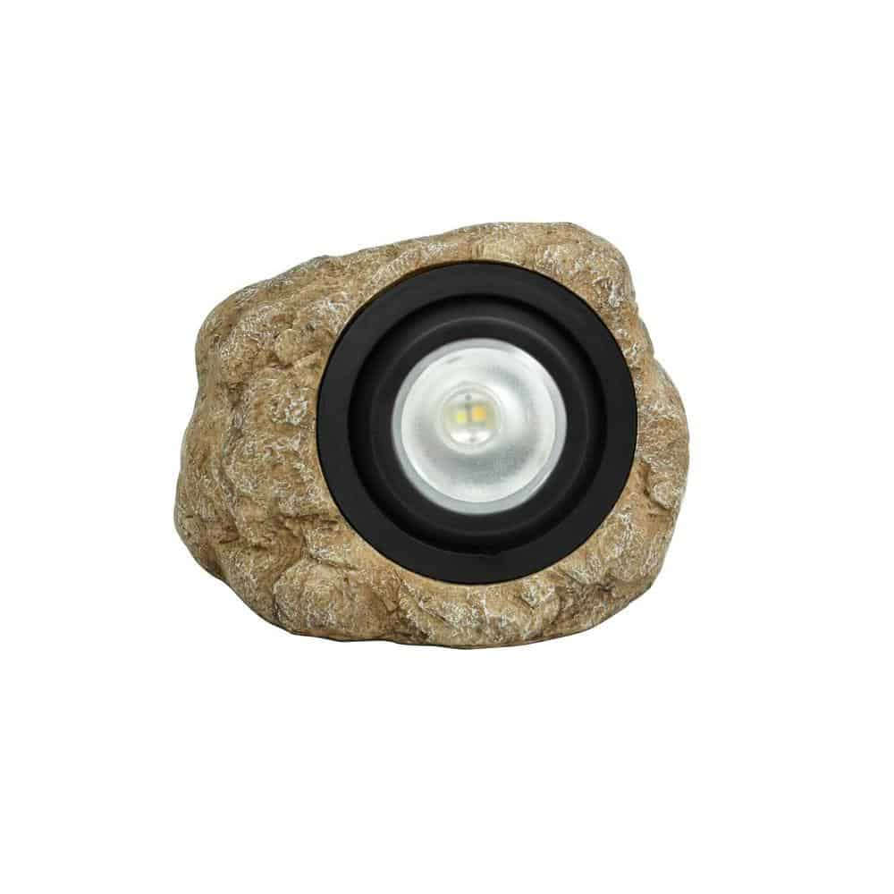 Rock solar light