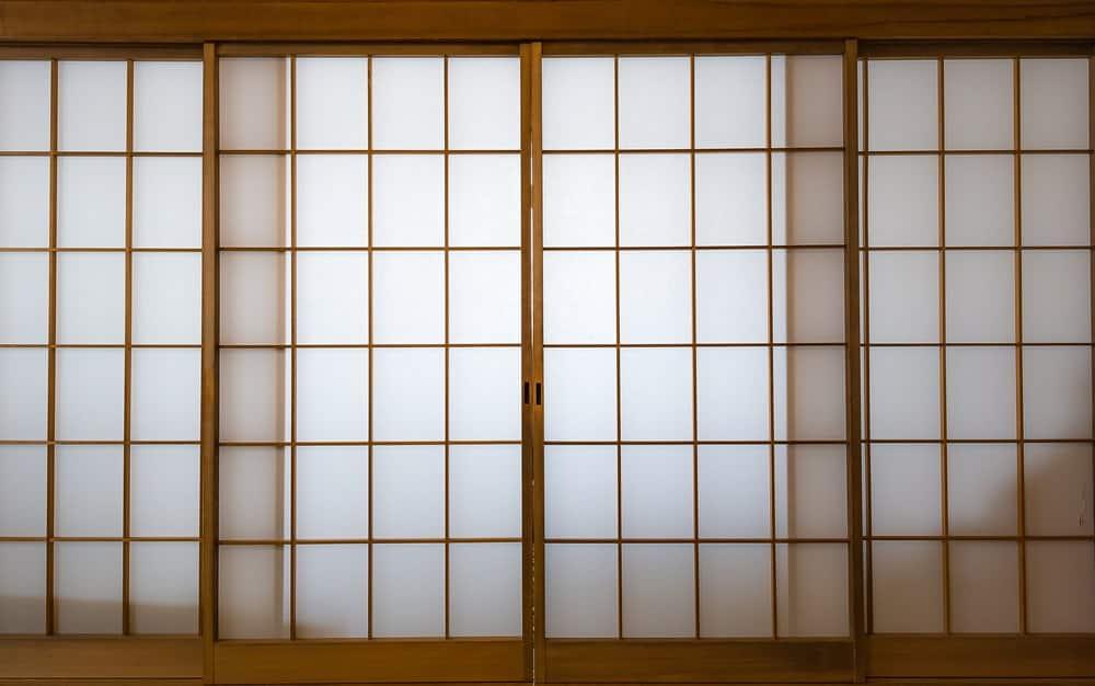 Traditional Japanese Shoji Doors