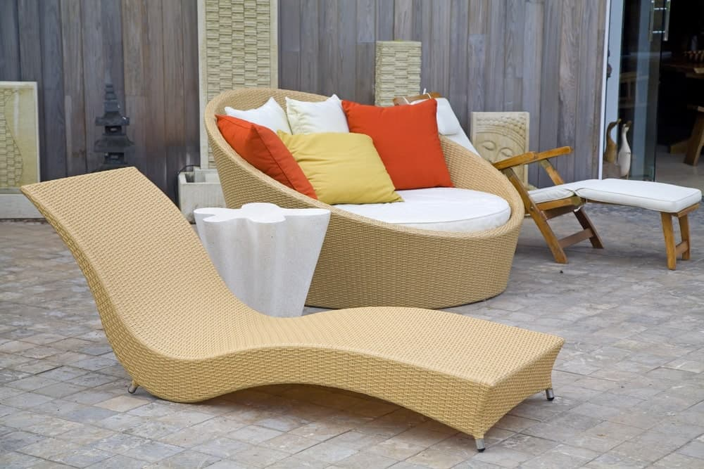 Modern Style Wicker Patio Chairs