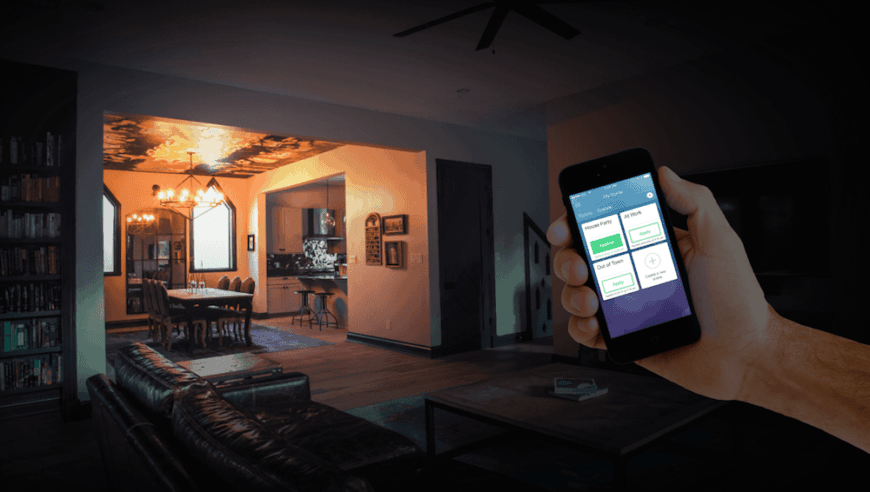 Photo of smart home app