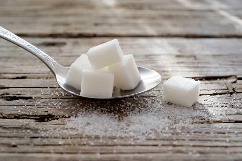 Powdered Sugar and Sugar Cubes