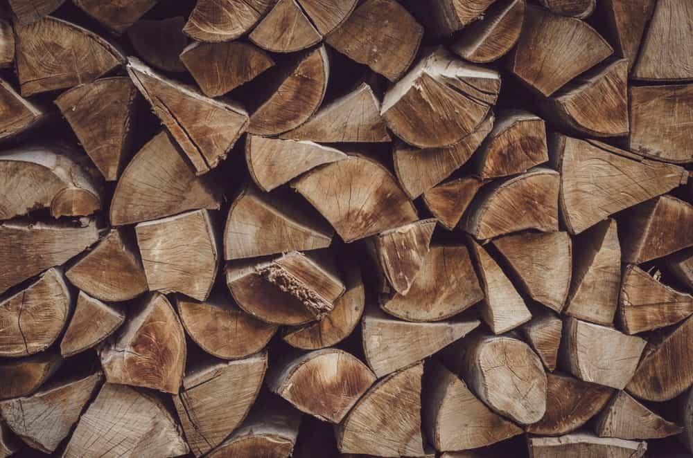 Lumber of walnut wood