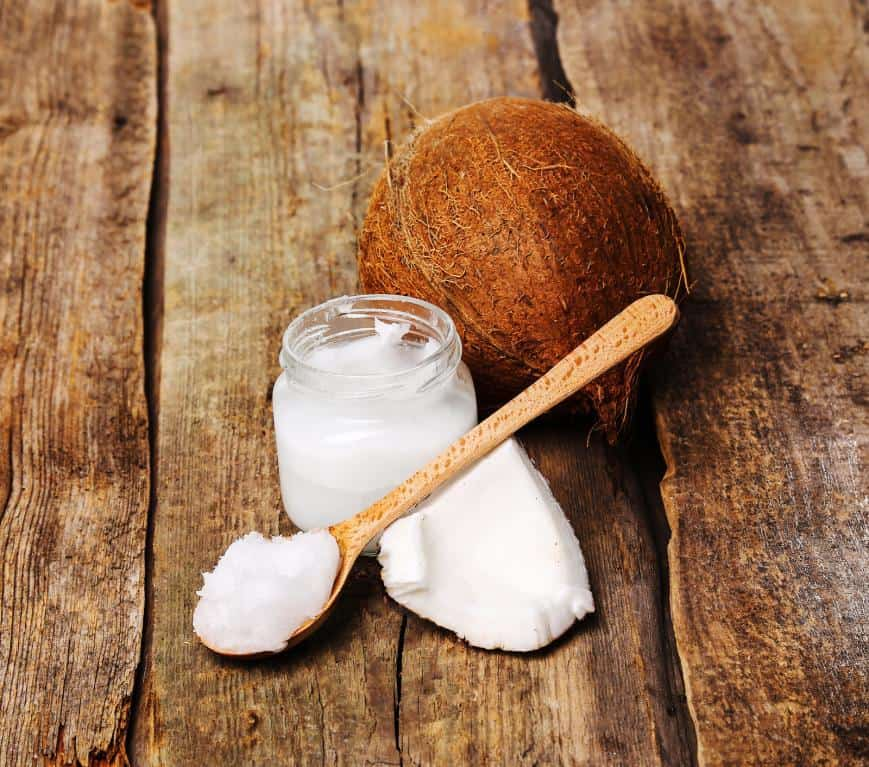 Making coconut oil stay fresh