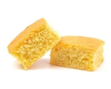 Moist and spongy cornbread