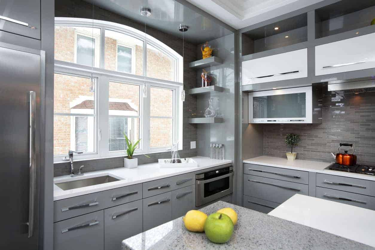 Kitchen with clever storage options jan28