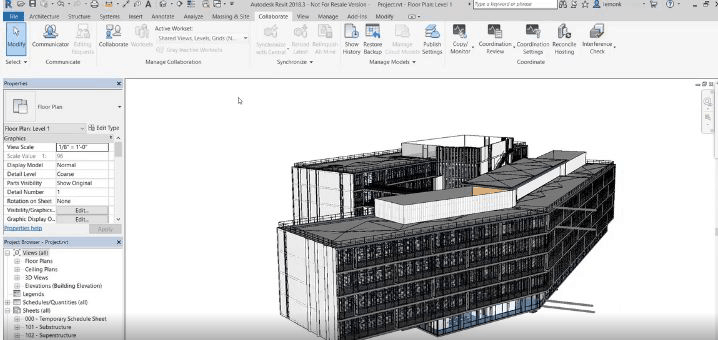 Software interface for architecture design