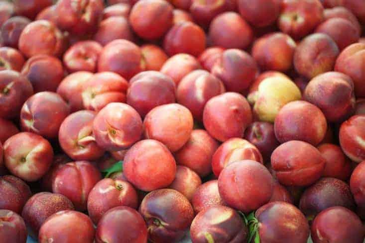 Bunch of nectarines