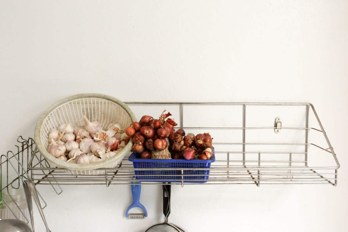 Kitchen crate for vegetables