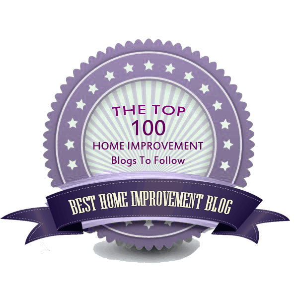 Top 100 home improvement blog award issued to homestratosphere