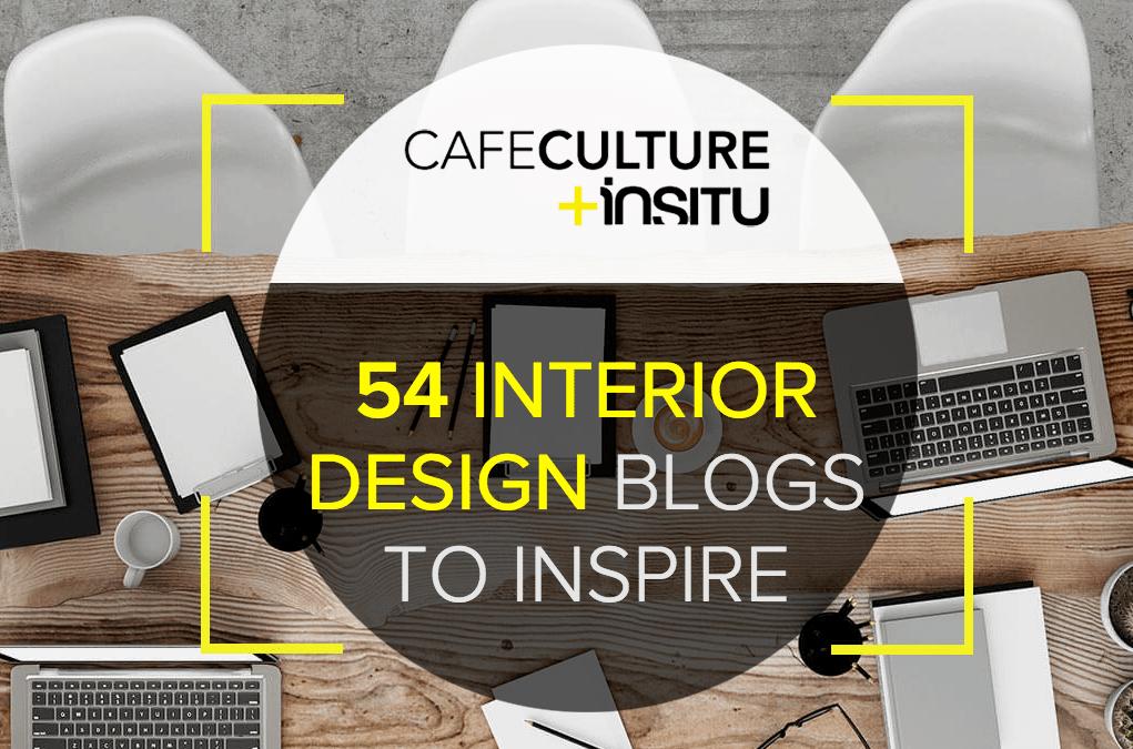 Top interior design blog award by Cafe Culture + Institu