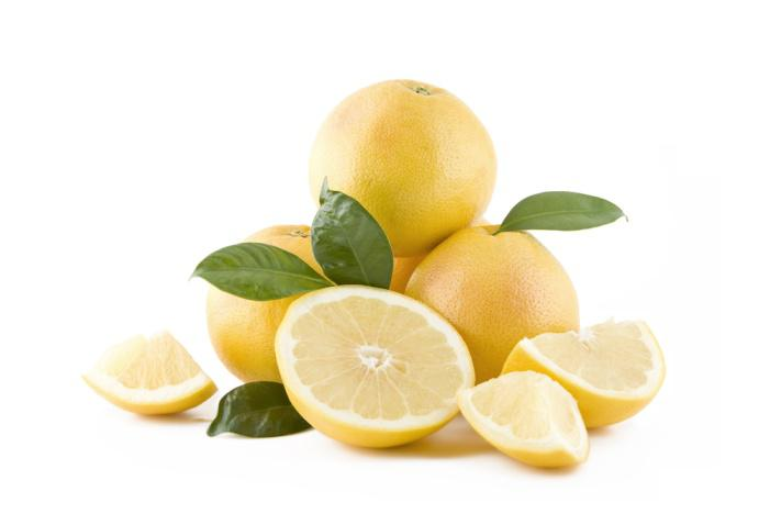 Fresh White Grapefruits
