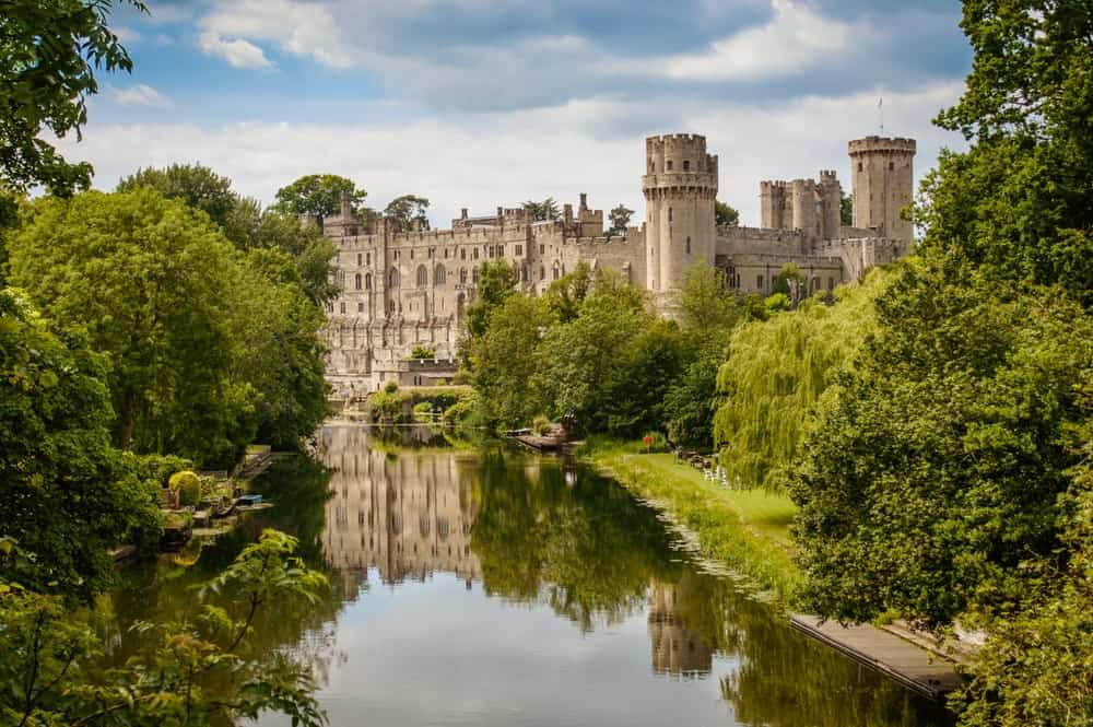 Warwick Castle in England.