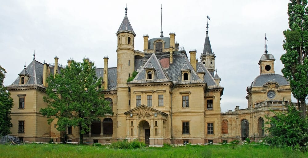 Schossberger Castle in Hungary.