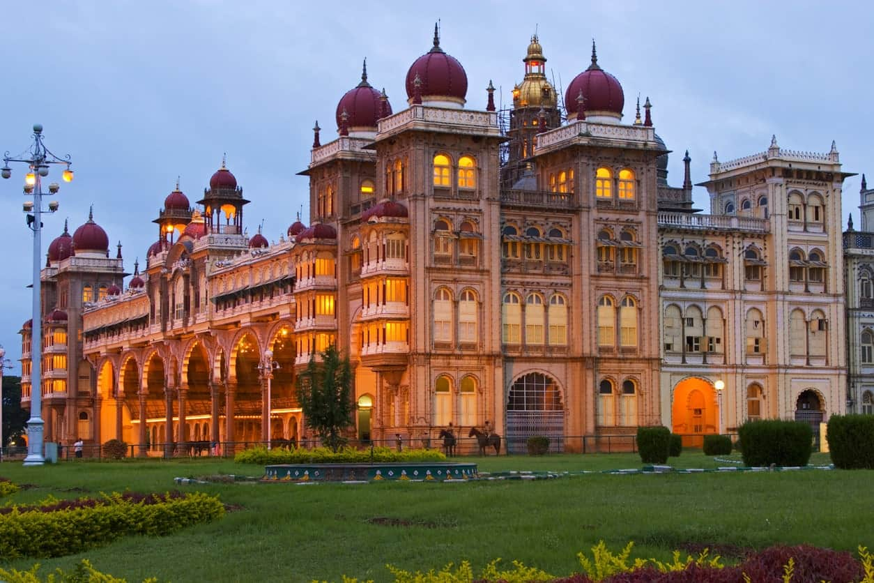 Mysore Palace in India.