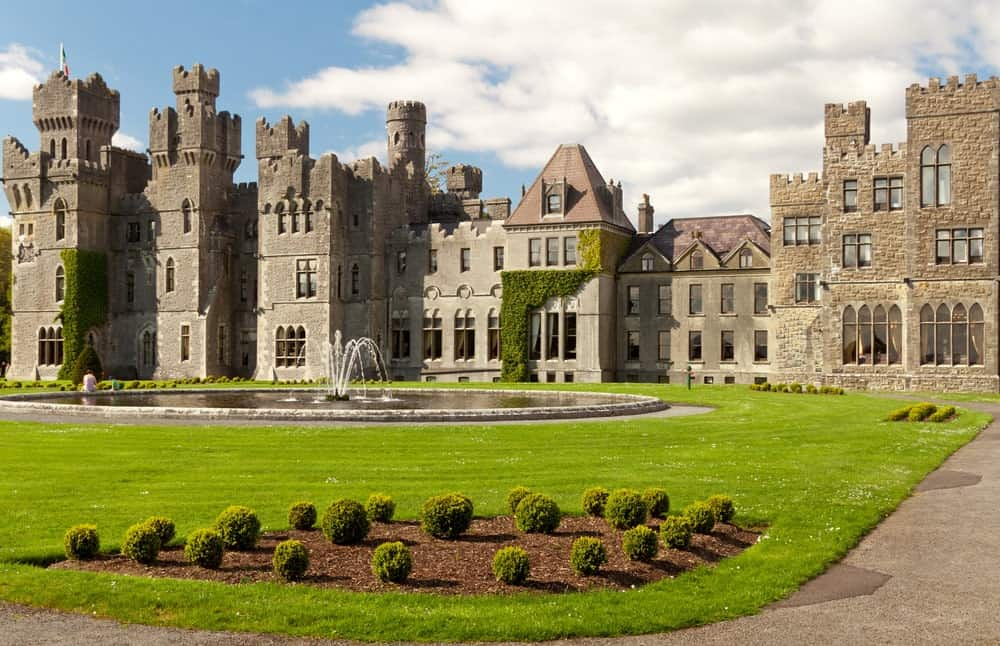 Ashford Castle in Ireland.