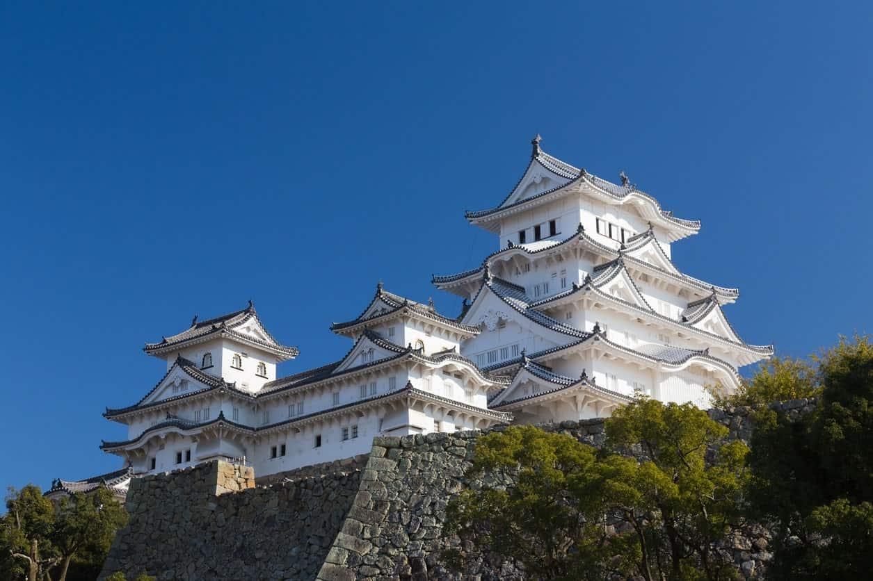 Himeji Castle in Japan.