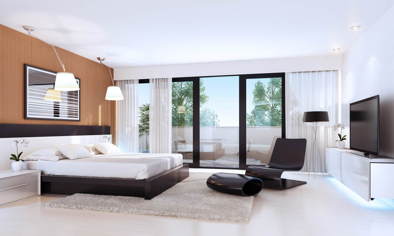 Wow! 101 Sleek Modern Master Bedroom Ideas (Photos)