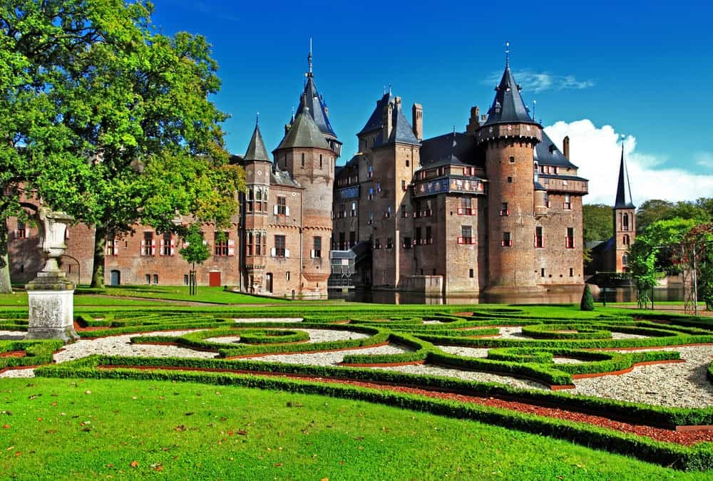 Castle De Haar in Netherlands.