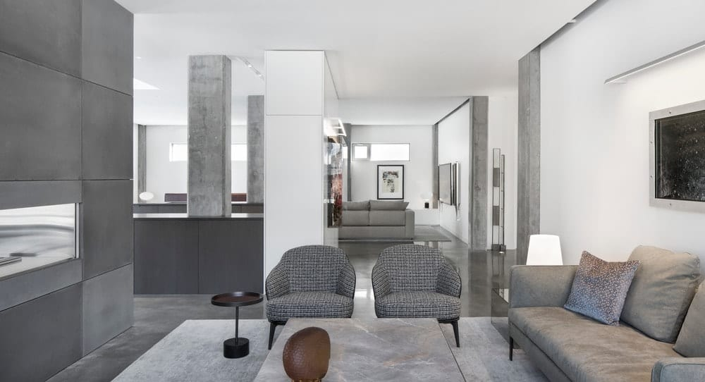 This sleek living room design indeed shows that gray is the new white! If you are a brave-hearted soul and aren't shy of displaying your knack for gray interiors, this is definitely the design you should go for.