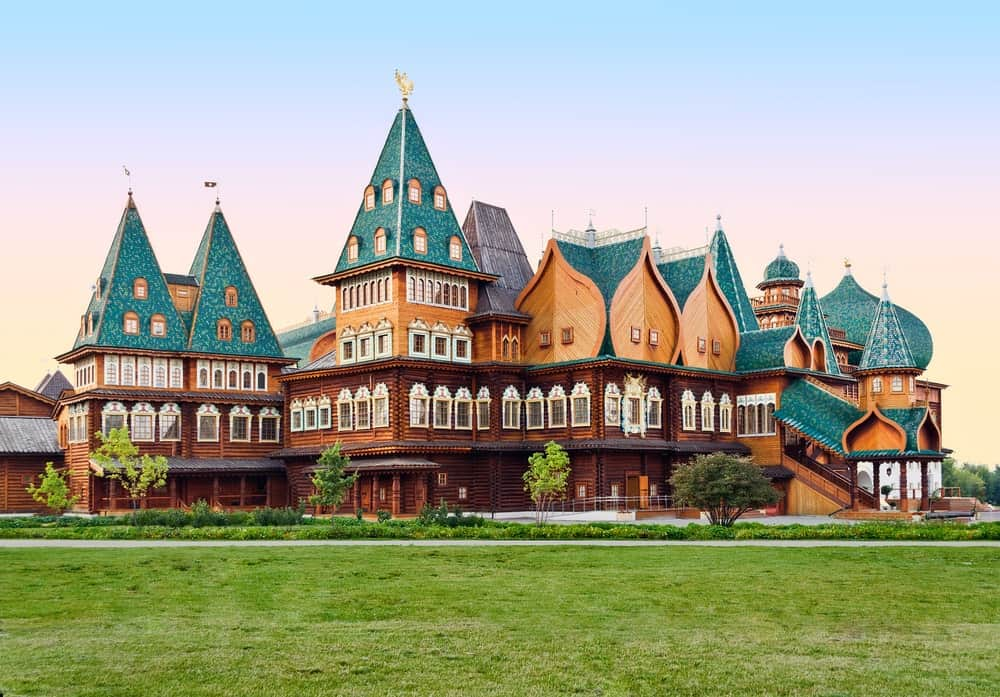 The Wooden Palace in Russia.