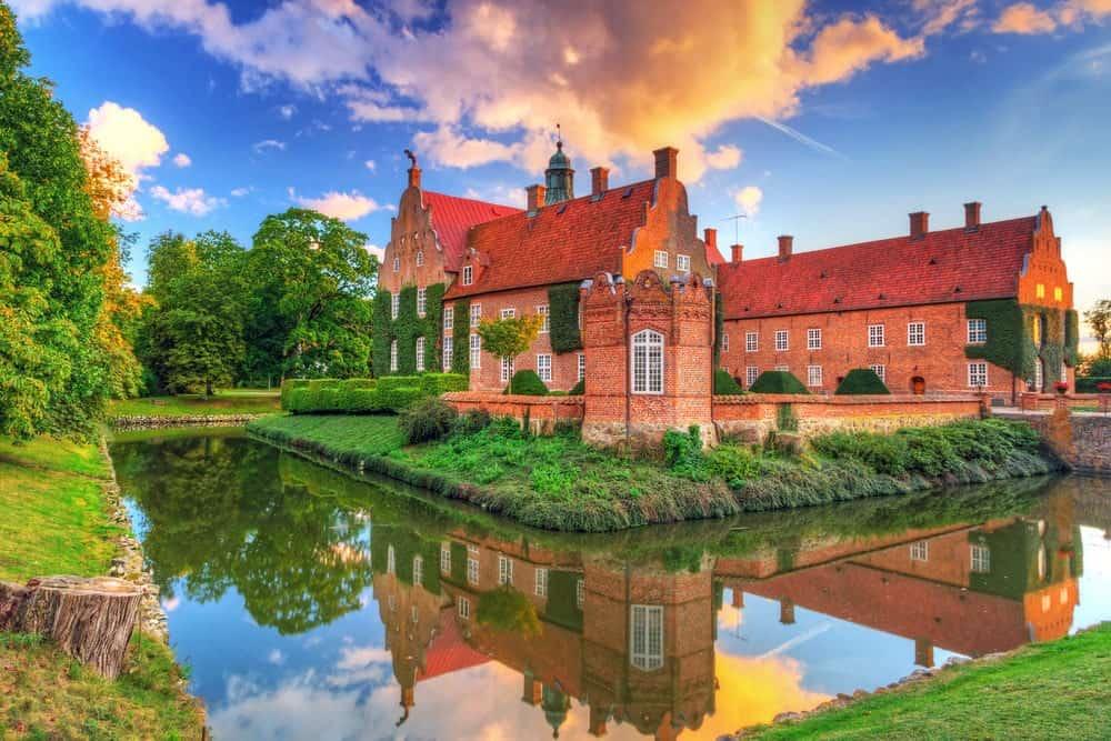 Trolle-Ljungby-Castle in Sweden.