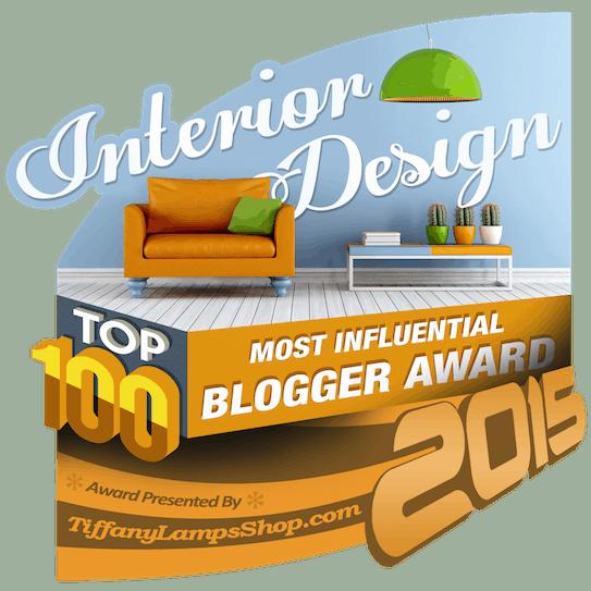 Top 100 Most Influential Interior Design Websites includes Home Stratosphere