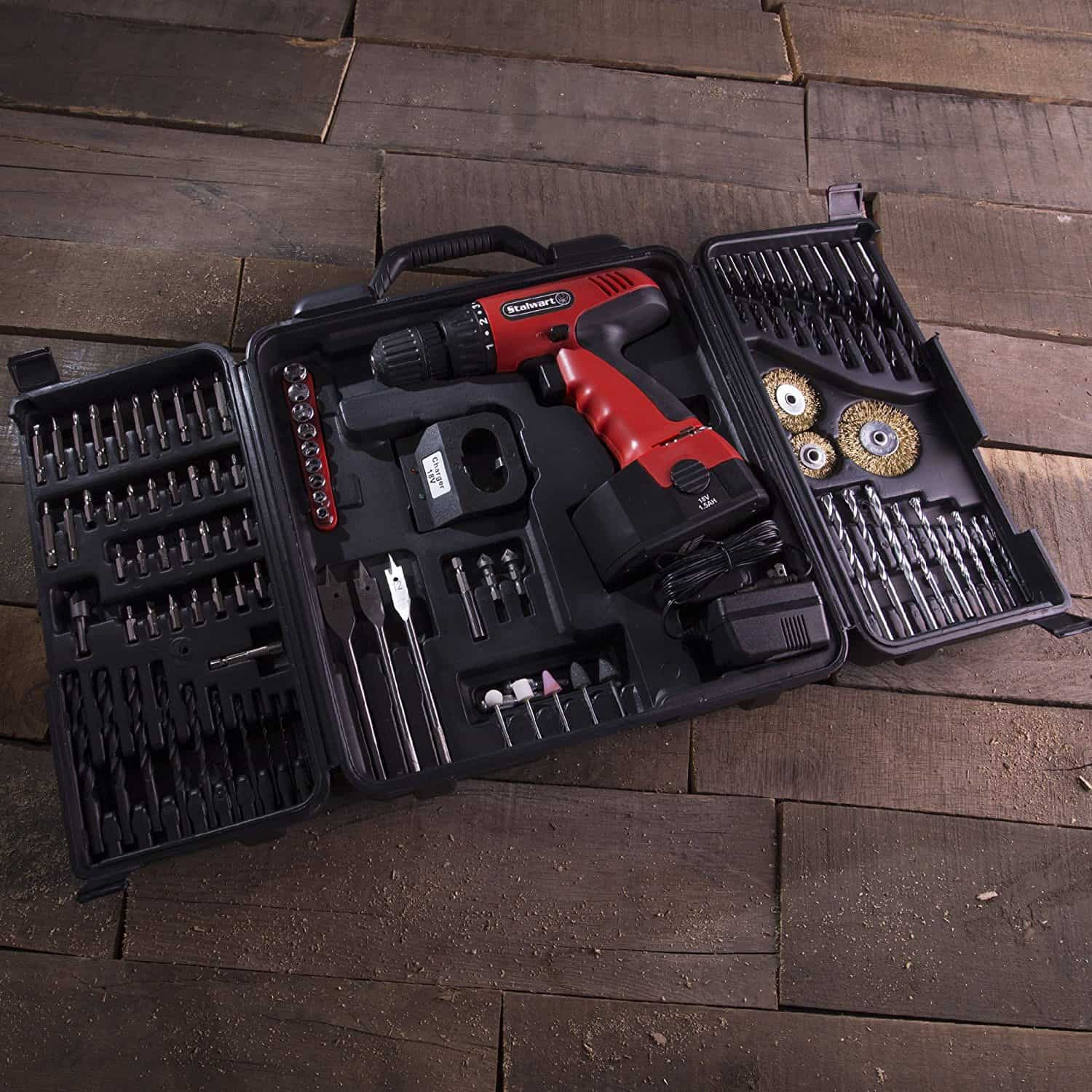Different types of in a toolbox.