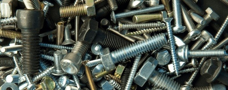 Different types of screws.